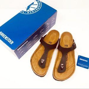 Birkenstock Black Gizeh Sandals Shoes